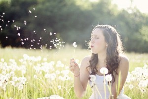 Stop and smell the dandelions